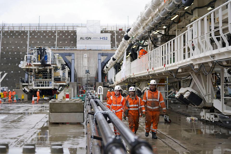 A total of 10 TBMs will be deployed between London and the West Midlands for Phase 1 of the high-speed railwayPA Wire