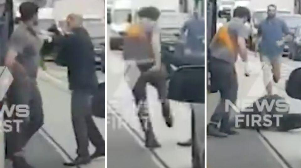 Victorian Police are investigating a suspected road rage brawl that saw a man hospitalised with minor injuries. Source 7 News