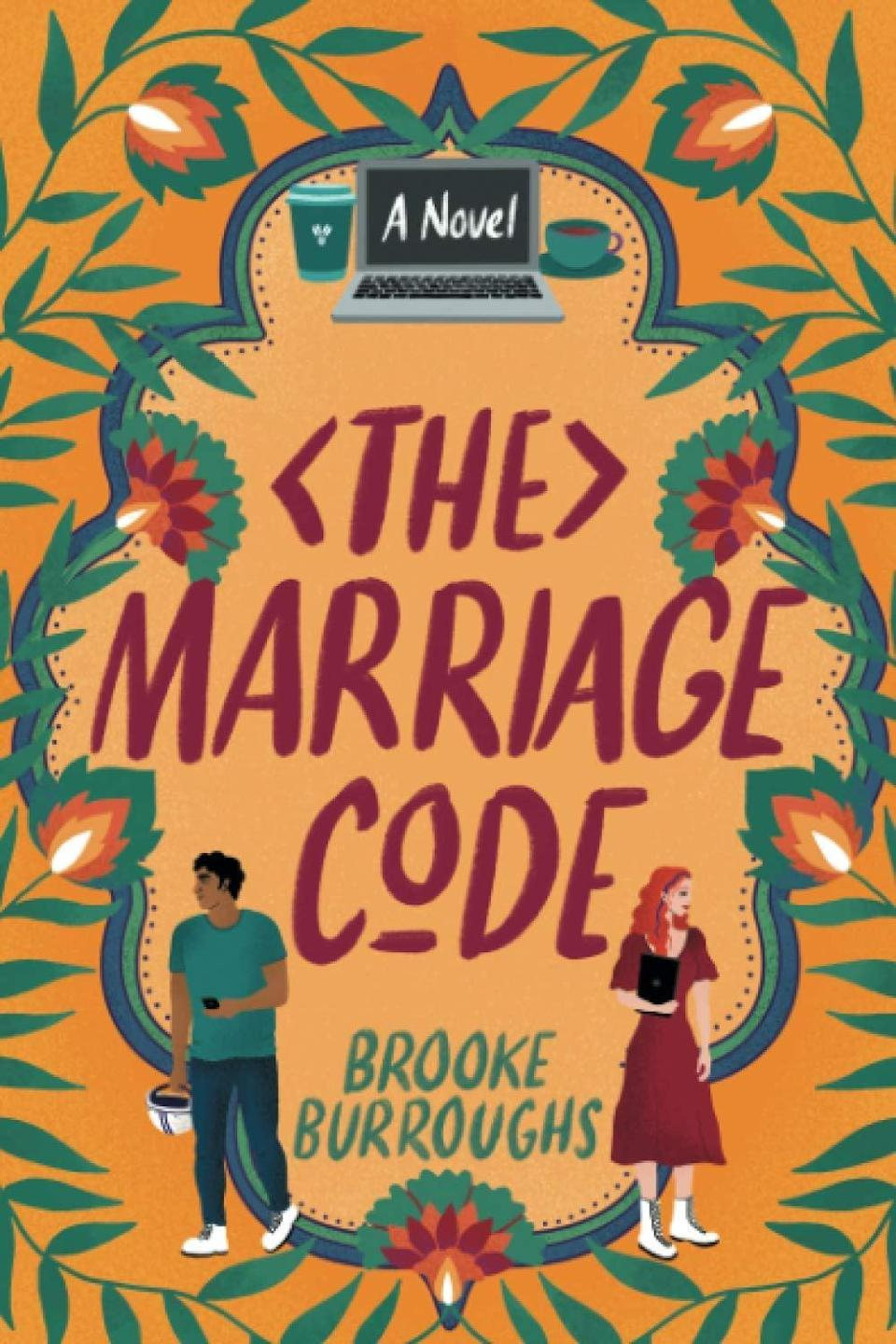"""<p>Brooke Burroughs's <span><strong>The Marriage Code</strong></span> has it all: an enemies-to-lovers plot, a heroine in a STEM field, and an <a href=""""https://www.popsugar.com/entertainment/will-there-be-emily-in-paris-season-2-47837487"""" class=""""link rapid-noclick-resp"""" rel=""""nofollow noopener"""" target=""""_blank"""" data-ylk=""""slk:Emily in Paris""""><strong>Emily in Paris</strong></a>-style relocation subplot that finds the book's central characters moving to Bangalore. At the heart of the story is Emma, who needs to get her co-worker Rishi to join her team after she lands the promotion he was passed over for, but in order to convince him to join her, she'll have to write a code to help him please his parents by finding the perfect wife. </p> <p><em>Out Jan. 1</em></p>"""