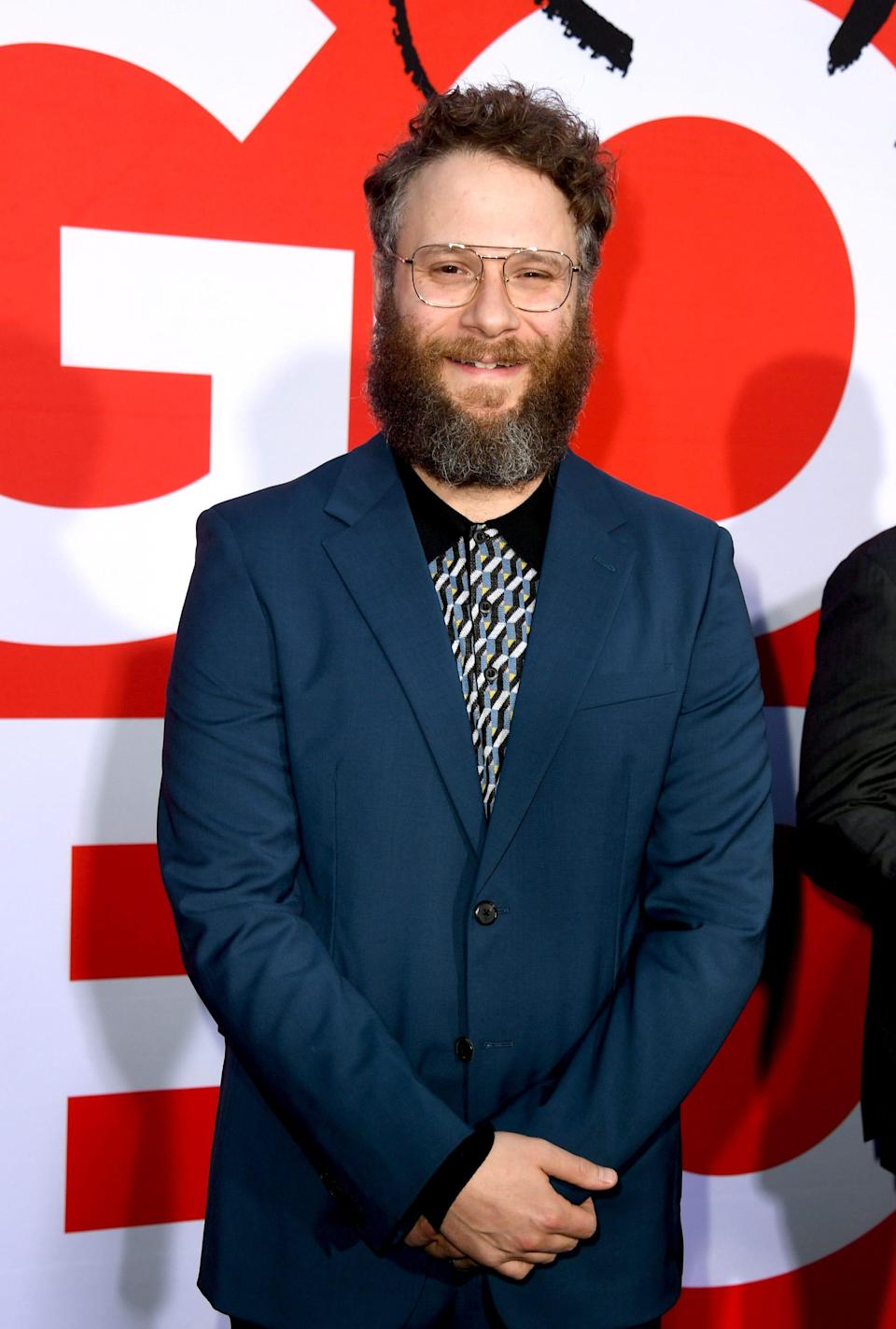 """Seth Rogen arrives at the premiere of Universal Pictures' """"Good Boys."""""""
