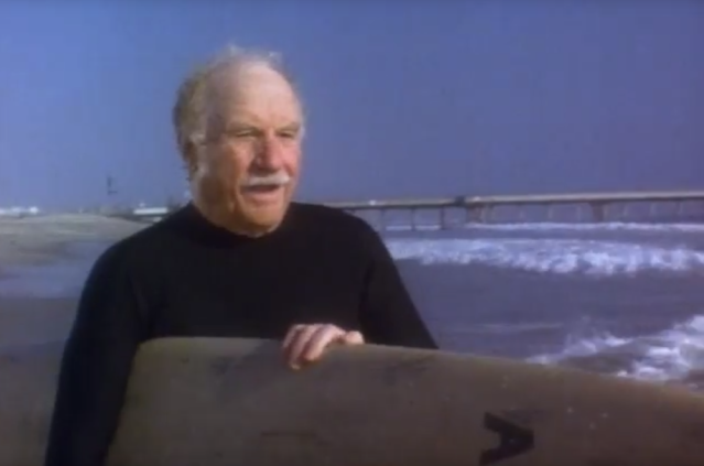 Jack Warden prepares to shred a few waves. (Photo: Lionsgate)