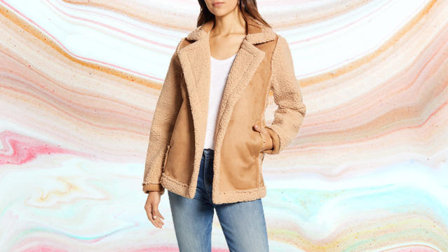 A warm, chic hug for the holidays. (Photo: Nordstrom)