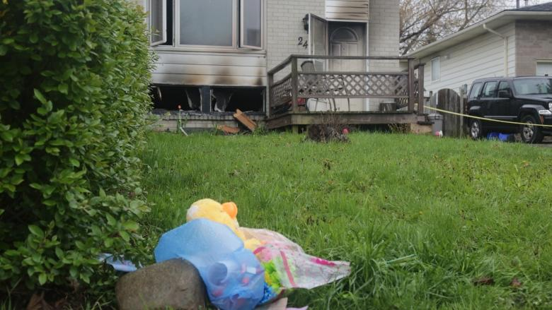 Family, friends mourn 3-year-old boy pulled from Hamilton Mountain house fire