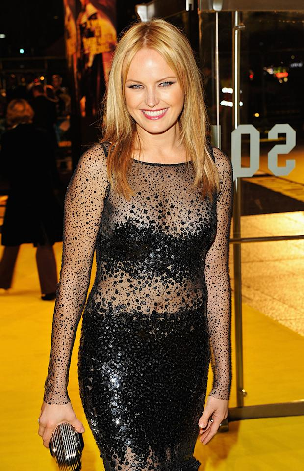 """<a href=""""http://movies.yahoo.com/movie/contributor/1808422842"""">Malin Akerman</a> at the London premiere of <a href=""""http://movies.yahoo.com/movie/1808406490/info"""">Watchmen</a> - 02/23/2009"""
