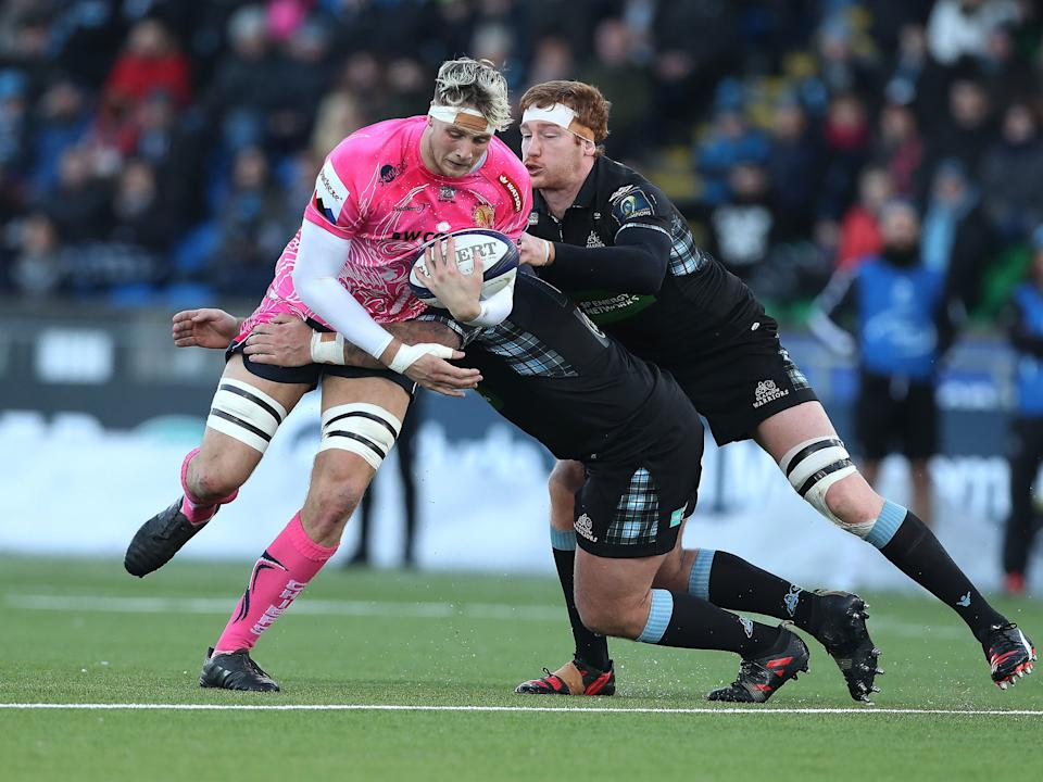<p>Exeter's Jonny Hill will make his England debut this weekend</p>Getty