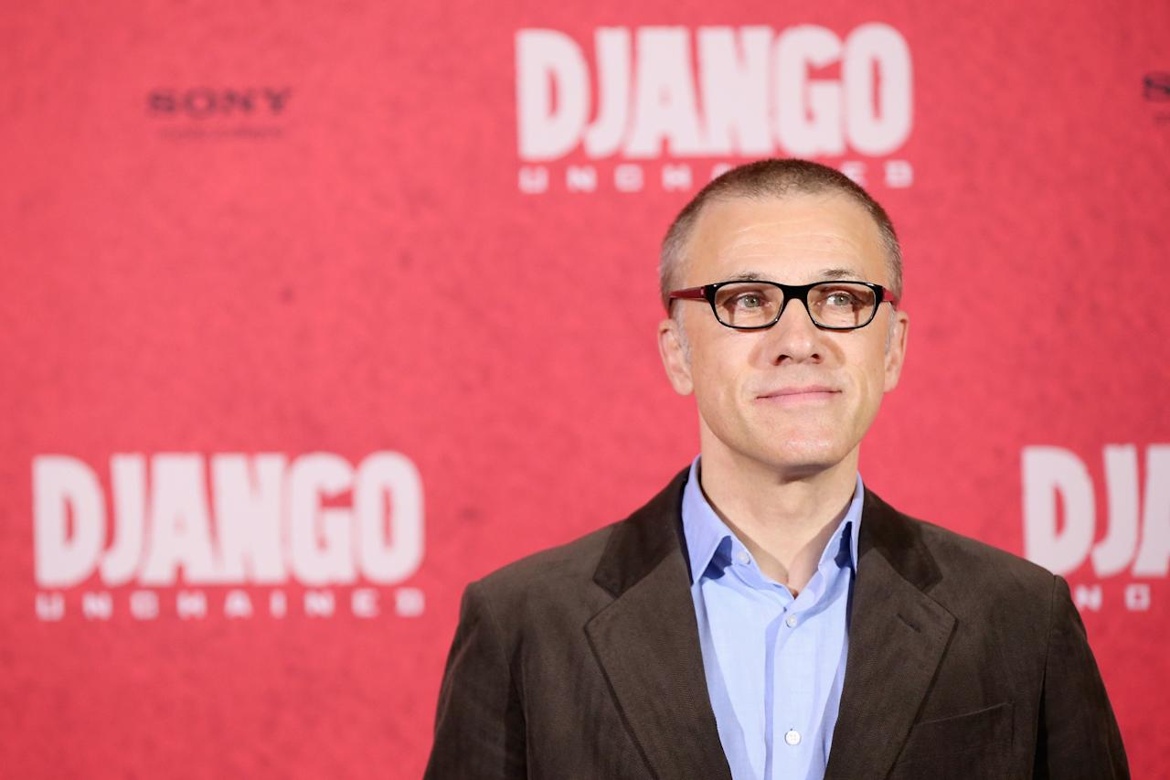 BERLIN, GERMANY - JANUARY 08:  Christoph Waltz attends 'Django Unchained' Berlin Photocall at Hotel de Rome on January 8, 2013 in Berlin, Germany.  (Photo by Sean Gallup/Getty Images for Sony Pictures)
