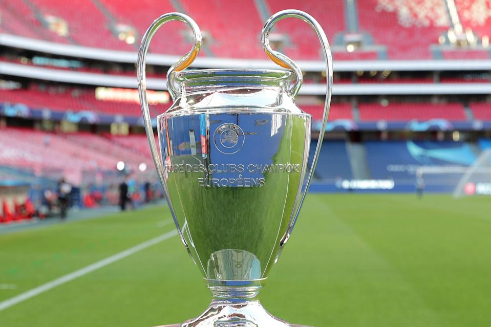 <p>The Champions League Final is scheduled to take place at Istanbul's Ataturk Olympic Stadium</p> (POOL/AFP via Getty Images)