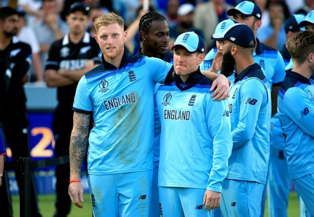 Ben Stokes, left, played a key role in England's World Cup win (Nick Potts/PA)