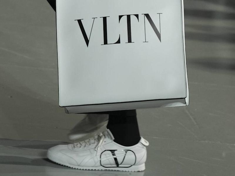 Valentino showcases surprise Onitsuka Tiger collaboration during runway show