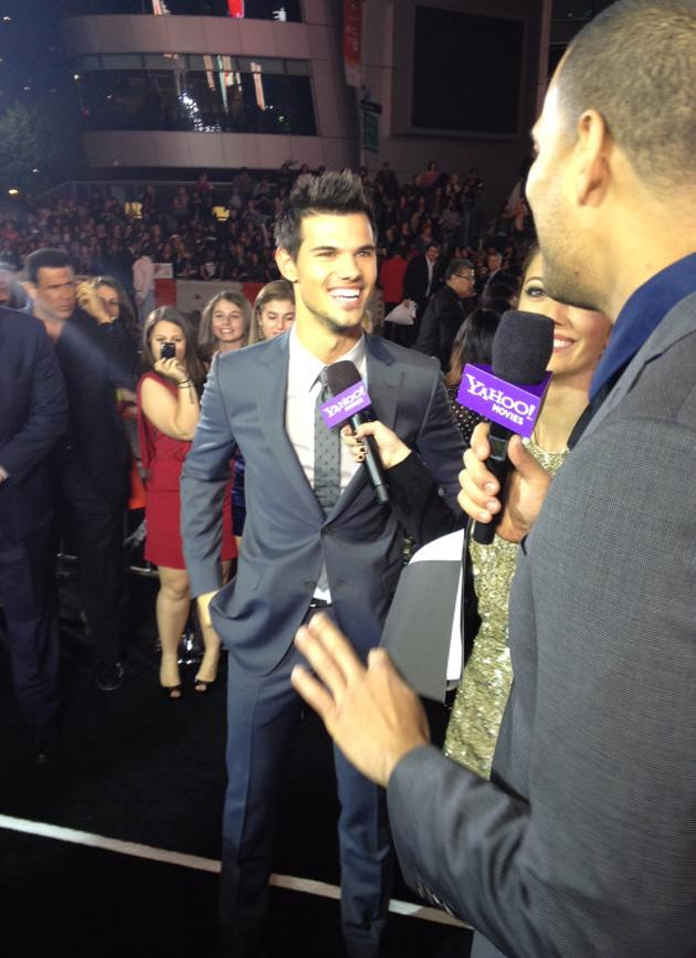 """It's been an honor doing these films for you guys."" - Taylor Lautner"