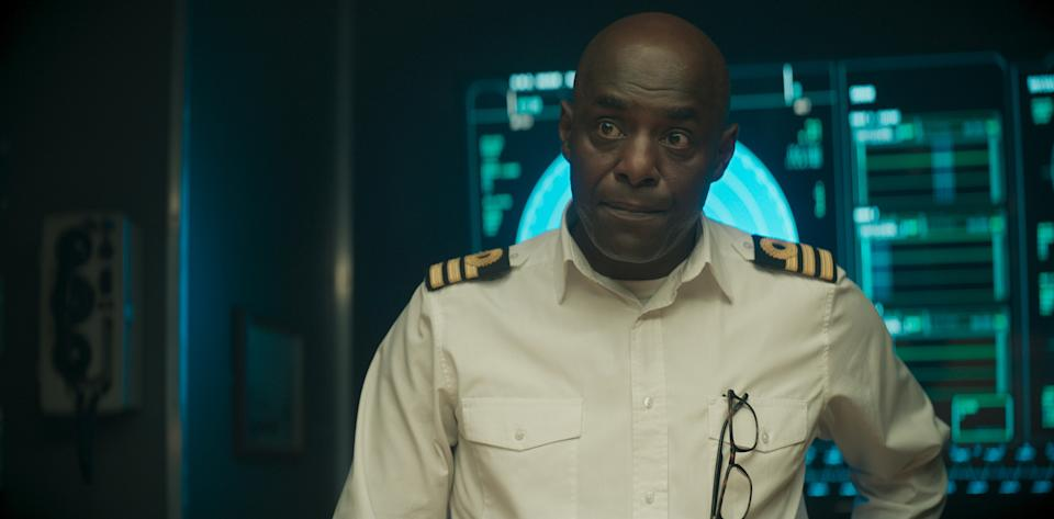 WARNING: Embargoed for publication until 00:00:01 on 14/09/2021 - Programme Name: Vigil - TX: n/a - Episode: n/a (No. 5) - Picture Shows:  Newsome (PATERSON JOSEPH) - (C) World Productions - Photographer: Screengrab