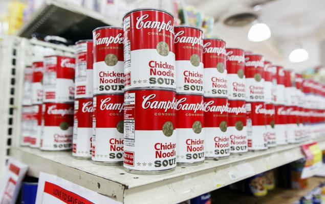 Campbell Soup Gains on Solid Snacks Segment & Saving Efforts