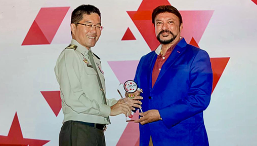 Singaporean Entrepreneur and Philanthropist Ricky Sapuran Singh Wins Best Bollywood Club at the IIEA 2019