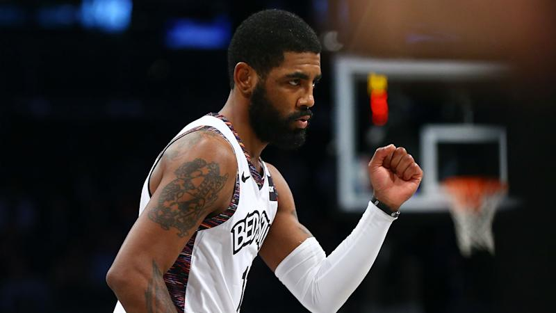 Nets' Kyrie Irving defends leadership style, will 'continue to push'