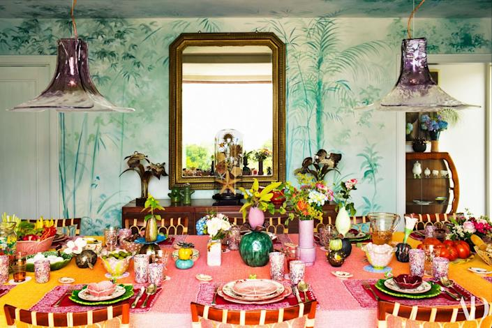 "<cite class=""credit""><a href=""https://www.architecturaldigest.com/story/margherita-missoni-italian-home?mbid=synd_yahoo_rss"" rel=""nofollow noopener"" target=""_blank"" data-ylk=""slk:Margherita Missoni's Bold Italian Home Makes a Splash"" class=""link rapid-noclick-resp"">Margherita Missoni's Bold Italian Home Makes a Splash</a>. Photo by Matthieu Salvaing.</cite>"