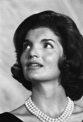 Not originally published in LIFE. Jackie Kennedy at a formal dinner, 1960.
