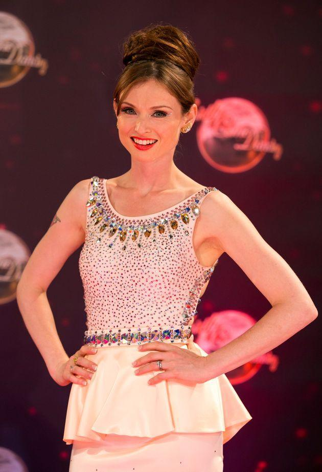 Sophie on the Strictly red carpet in 2013 (Photo: John Phillips via Getty Images)