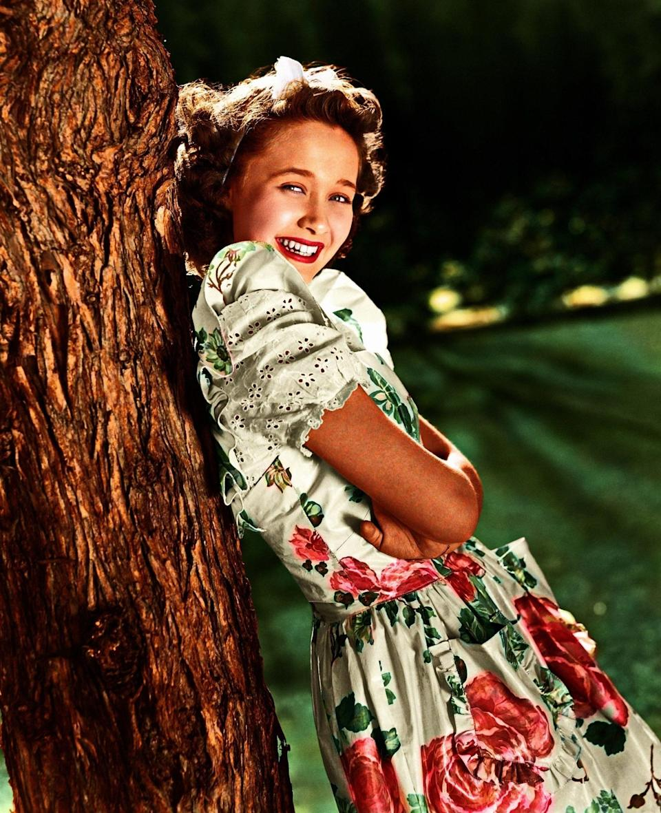 Jane Powell - Hollywood Photo Archive/MediaPunch/Backgrid
