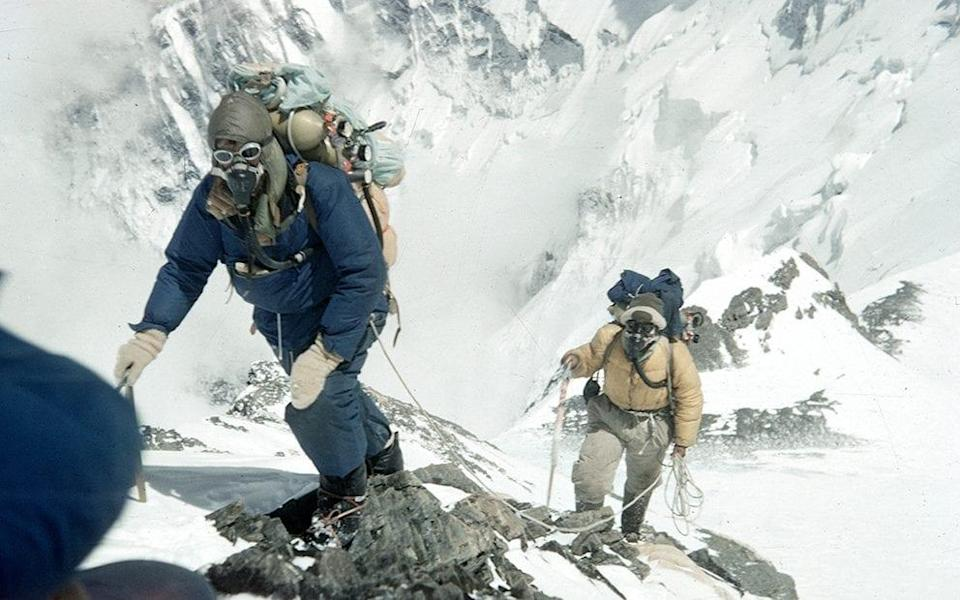 Sir Edmund Hilary and Tenzing Norgay rewrote the history books in 1953 - Getty