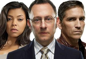 Taraji P. Henson, Michael Emerson, Jim Caviezel | Photo Credits: Michael Muller/CBS