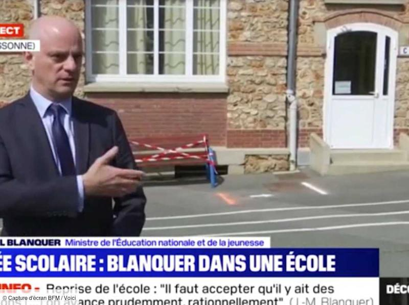 VIDEO Jean-Michel Blanquer : après sa phrase polémique, le ministre de l'Education nationale s'explique