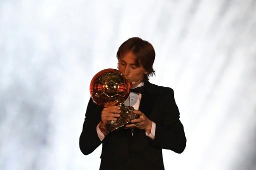Luka Modrić wins the 2018 Ballon d'Or