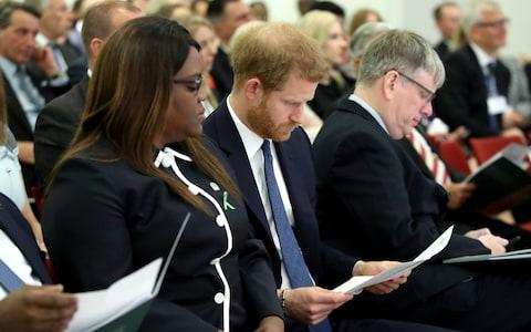The Duke of Sussex attends the Chatham House conference - Credit: Chris Jackson
