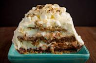 """<p>Anything s'mores screams summertime, and this impressive icebox cake is easier to make than you may think.</p><p><em><strong>Get the recipe at <a href=""""https://www.delish.com/cooking/recipe-ideas/recipes/a47626/smores-icebox-cake-recipe/"""" rel=""""nofollow noopener"""" target=""""_blank"""" data-ylk=""""slk:Delish."""" class=""""link rapid-noclick-resp"""">Delish.</a></strong></em></p>"""