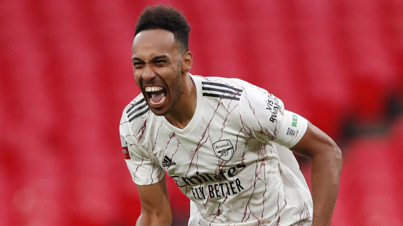 'Aubameyang set to sign three-year plus contract' – Arsenal legend Winterburn 'very nervous' over new deal