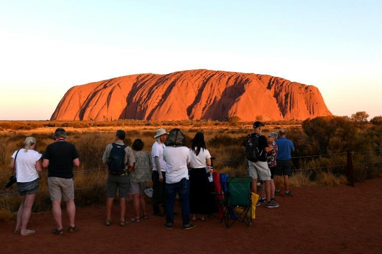 Uluru was closed to tourists last year at the request of the Anangu people, who hold the site sacred