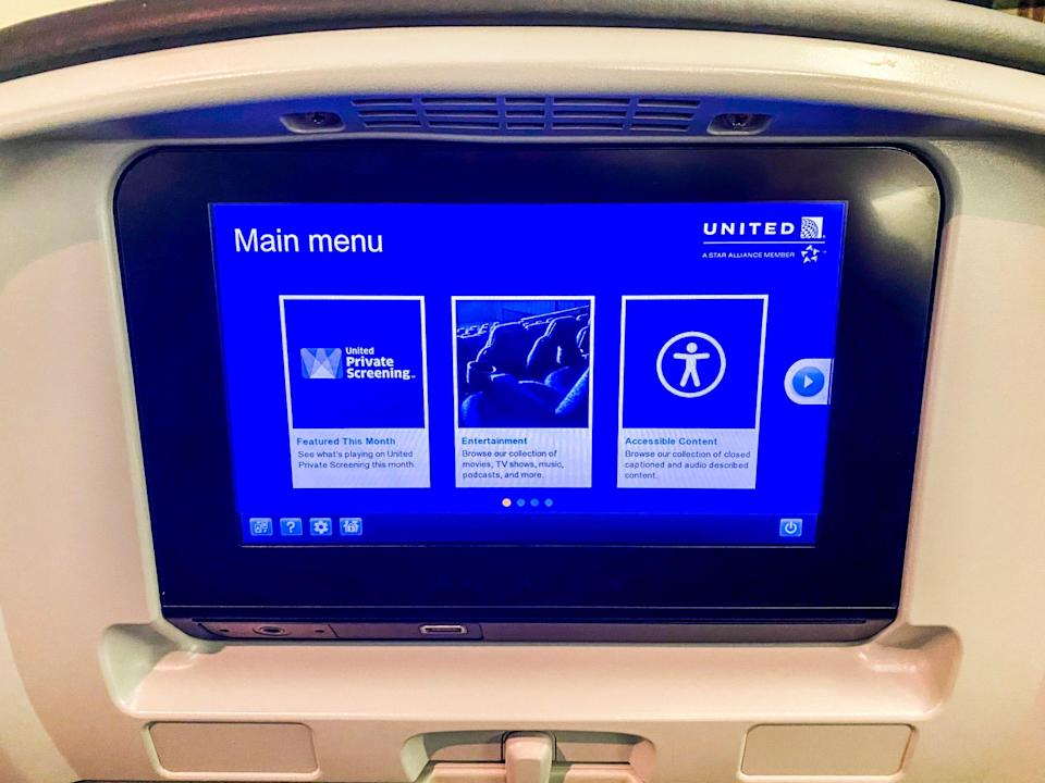 United Airlines New York to San Francisco Flight