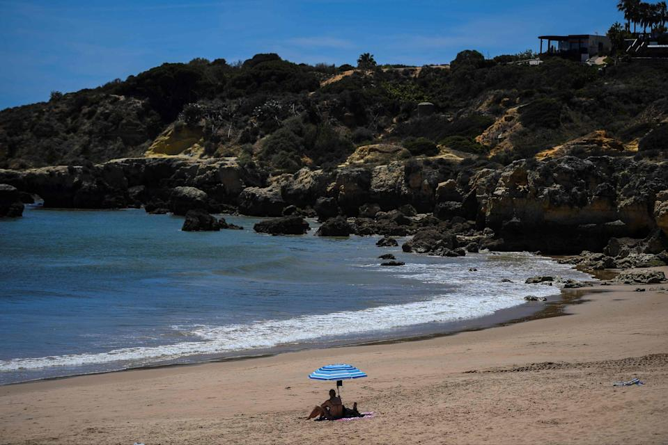 Sunny countries such as Portugal are now on the green list (AFP via Getty Images)
