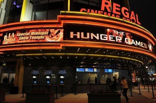 "Opening night of Lionsgate's ""The Hunger Games"" at the Regal Cinemas L.A. LIVE Stadium"