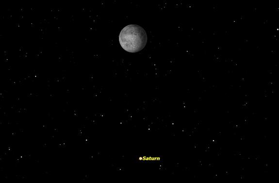Saturn Shines with the Moon Tonight: How to See It