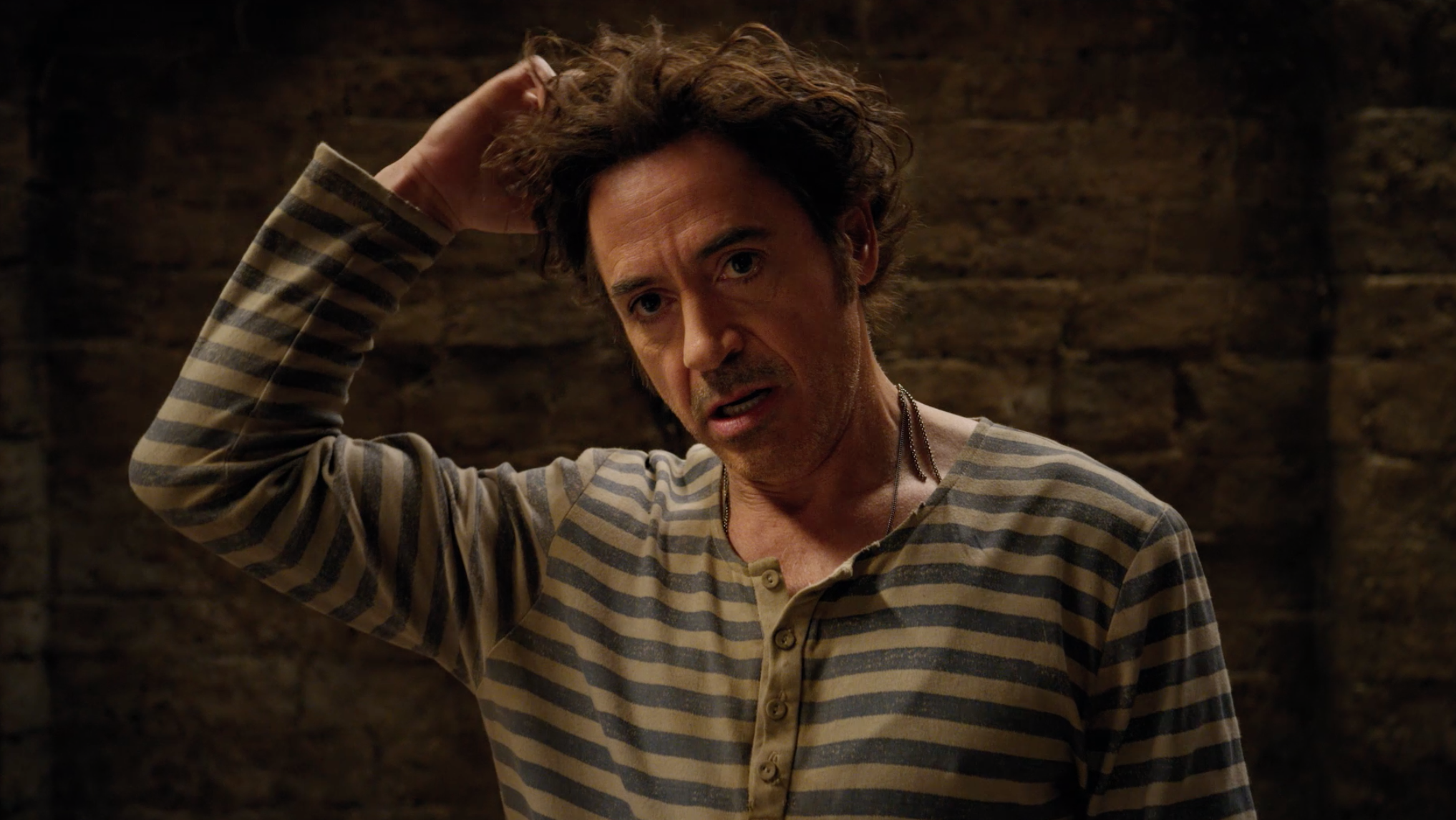 Robert Downey Jr. electrifies one of literature's most enduring characters in a vivid reimagining of the classic tale of the man who could talk to animals: Dolittle. After losing his wife seven years earlier, the eccentric Dr. John Dolittle (Downey), famed doctor and veterinarian of Queen Victoria's England, hermits himself away behind the high walls of Dolittle Manor with only his menagerie of exotic animals for company. But when the young queen (Jessie Buckley, Wild Rose) falls gravely ill, a reluctant Dolittle is forced to set sail on an epic adventure to a mythical island in search of a cure, regaining his wit and courage as he crosses old adversaries and discovers wondrous creatures. The doctor is joined on his quest by a young, self-appointed apprentice (Dunkirk's Harry Collett) and a raucous coterie of animal friends, including an anxious gorilla (Oscar® winner Rami Malek), an enthusiastic but bird-brained duck (Oscar® winner Octavia Spencer), a bickering duo of a cynical ostrich (The Big Sick's Kumail Nanjiani) and an upbeat polar bear (John Cena, Bumblebee) and a headstrong parrot (Oscar® winner Emma Thompson), who serves as Dolittle's most trusted advisor and confidante. The film also stars Antonio Banderas, Michael Sheen (The Queen) and Oscar® winner Jim Broadbent and features additional voice performances from Oscar® winner Marion Cotillard, Frances de la Tour, Carmen Ejogo, Ralph Fiennes, Selena Gomez, Tom Holland, and Craig Robinson. Directed by Academy Award® winner Stephen Gaghan (Syriana, Traffic), Dolittle is produced by Joe Roth and Jeff Kirschenbaum under their Roth/Kirschenbaum Films (Alice in Wonderland, Maleficent) and Susan Downey (Sherlock Holmes franchise, The Judge) for Team Downey. The film is executive produced by Robert Downey Jr., Sarah Bradshaw (The Mummy, Maleficent) and Zachary Roth (Maleficent: Mistress of Evil). Dolittle is in cinemas February 2020.