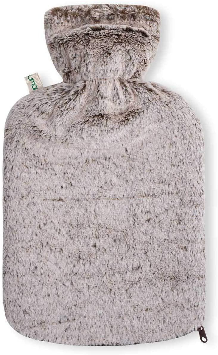 "<h3>Hot Water Bottles</h3><br>This one might seem a little basic but hot water bottles are perhaps the easiest way to warm yourself up throughout the working day. Whether you prefer a bag full of beans which you heat up in the microwave or a traditional hottie filled with just-boiled water, a hot water bottle is a <a href=""https://www.refinery29.com/en-gb/embroidered-cardigan"" rel=""nofollow noopener"" target=""_blank"" data-ylk=""slk:cosy"" class=""link rapid-noclick-resp"">cosy </a>addition which you can take from your desk to your bedroom for a quick lunchtime <a href=""https://www.refinery29.com/en-gb/comfortable-clothing-covid-fashion-trend"" rel=""nofollow noopener"" target=""_blank"" data-ylk=""slk:nap"" class=""link rapid-noclick-resp"">nap</a>.<br><br><strong>UMOI</strong> Natural Rubber Hot Water Bottle, $, available at <a href=""https://www.amazon.co.uk/UMOI-Bottle-Natural-Removable-High-Quality/dp/B076GS2G2D/ref=as_li_ss_tl?"" rel=""nofollow noopener"" target=""_blank"" data-ylk=""slk:Amazon"" class=""link rapid-noclick-resp"">Amazon</a>"
