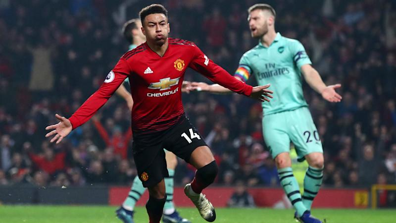 af9c3acb5d8 Manchester United 2 Arsenal 2  Lingard earns point but Red Devils stay  eighth