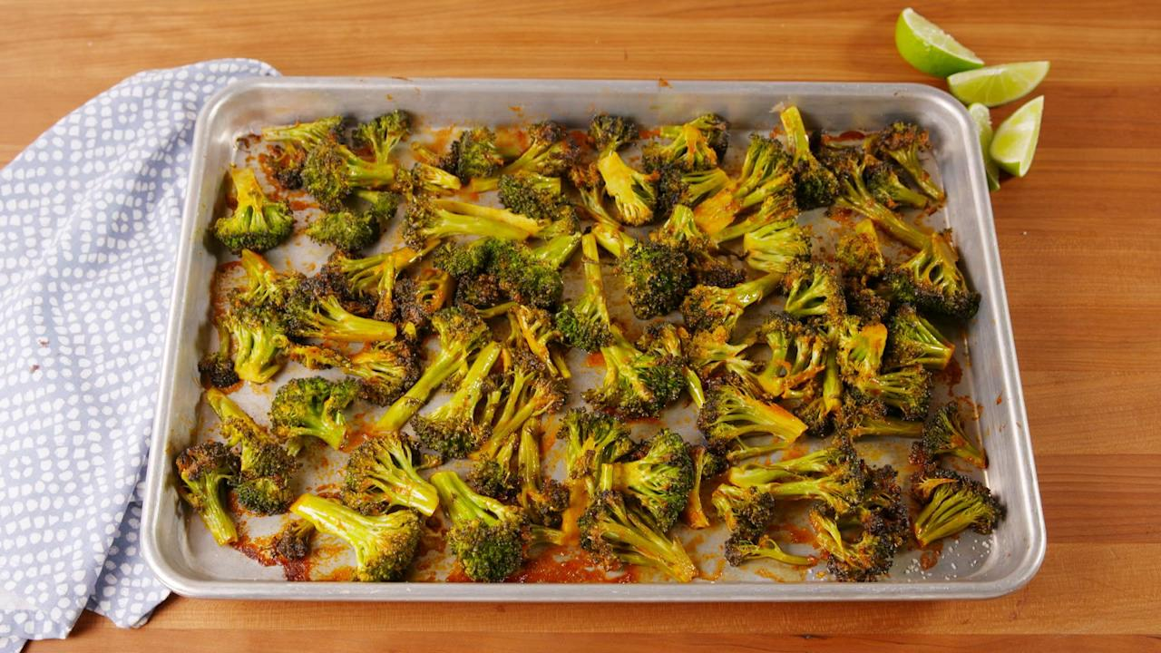 "<p>No matter how you <a href=""http://www.delish.com/cooking/nutrition/g241/broccoli-recipes/"" target=""_blank"">feel about broccoli</a>, these recipes will open your mind to new ways of eating the green veg, from straight-up veggies on a pan to incorporating it into full-on meals. To keep packing in the vitamin C, try our <a href=""http://www.delish.com/cooking/g4549/broccoli-salad/"">delicious broccoli salads</a> and <a href=""http://www.delish.com/cooking/g4556/broccoli-casserole/"">favorite broccoli casseroles</a>!</p>"