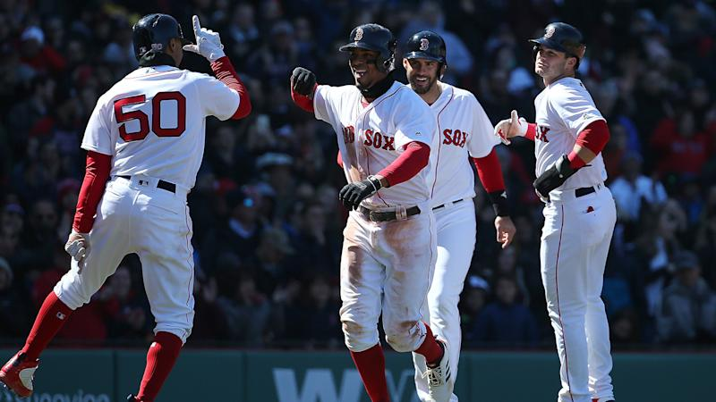 Red Sox stay hot for best start in franchise history