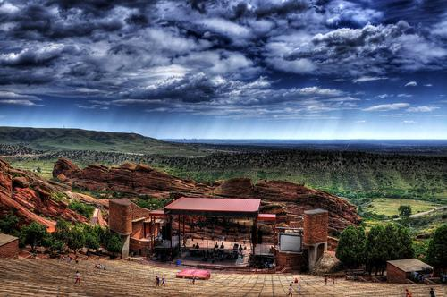 Dave Matthews Band at Red Rocks in Denver