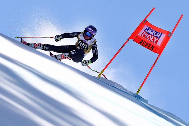 Alpine skiing - Worley takes GS crown, Italy sweeps podium