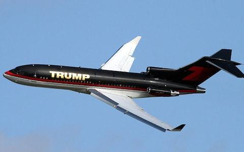Trump's former private jet was a 727 - Credit: getty