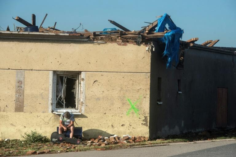 More than 1,000 houses had been hit by the storm