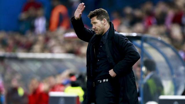 Sevilla have impressed Diego Simeone since Jorge Sampaoli's arrival, but he hopes to smash their dwindling title hopes on Sunday.