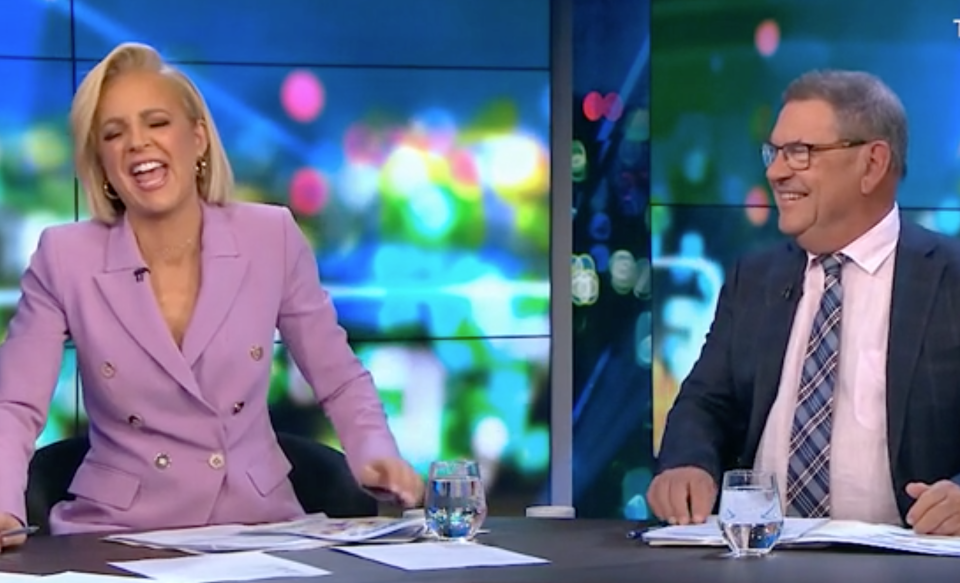 the project carrie bickmore steve price laughing