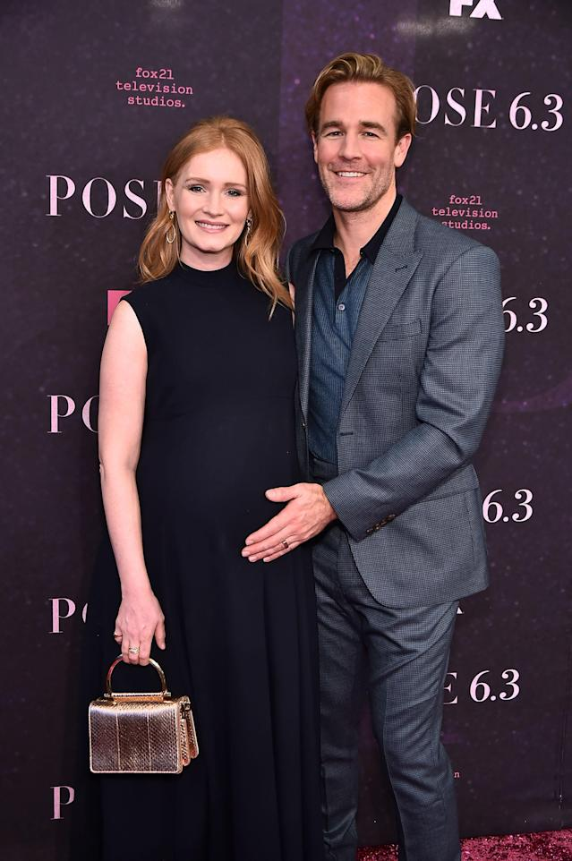 James Van Der Beek shared a photo of his new daughter, who was born at home. (Photo: Getty Images)