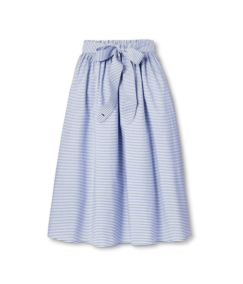 Vineyard Vines for Target Striped Midi Skirt (Photo: Target)