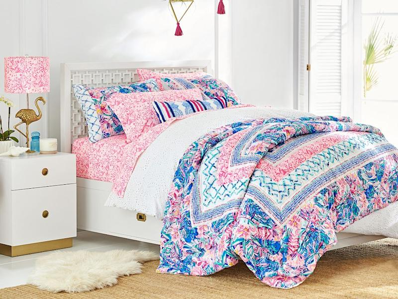 Pottery Barn Launched A Lilly Pulitzer Line We Want All The Brightly Colored Things