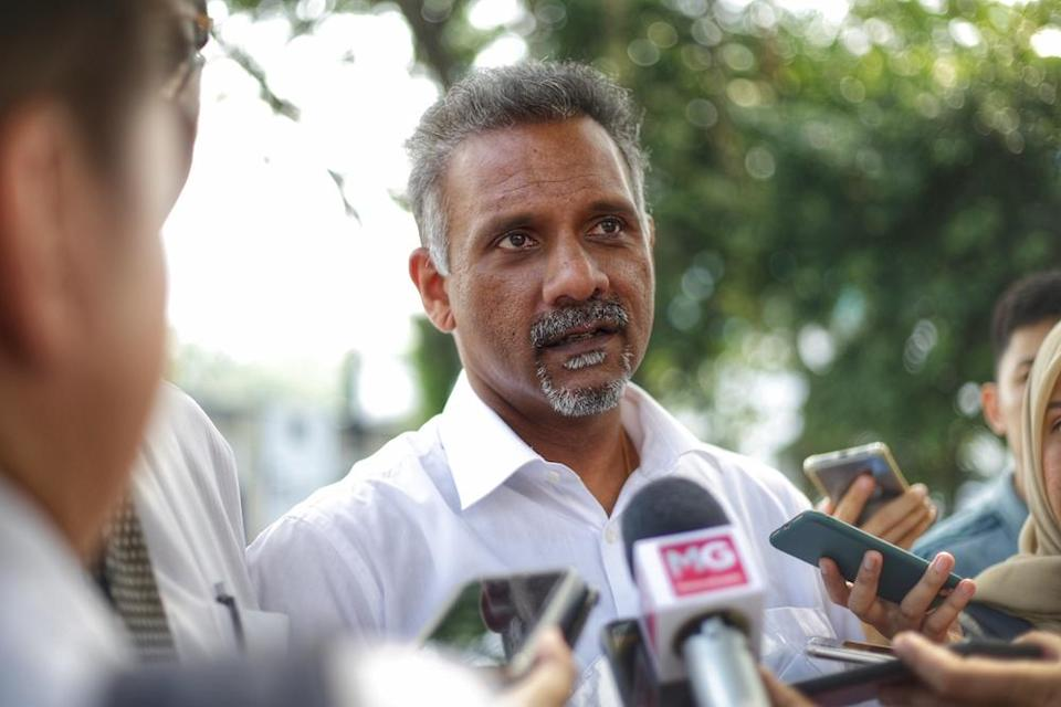 DAP MP Ramkarpal Singh said the police's reported contacting of several participants of the Parlimen Digital programme yesterday was uncalled for. — Picture by Ahmad Zamzahuri