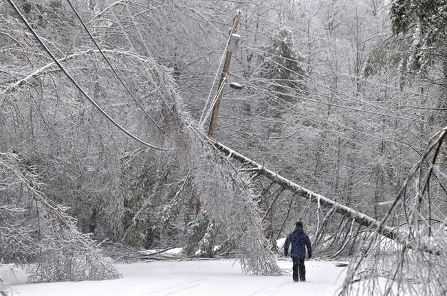 Residents coping without power after ice storm, but grow frustrated with each passing day